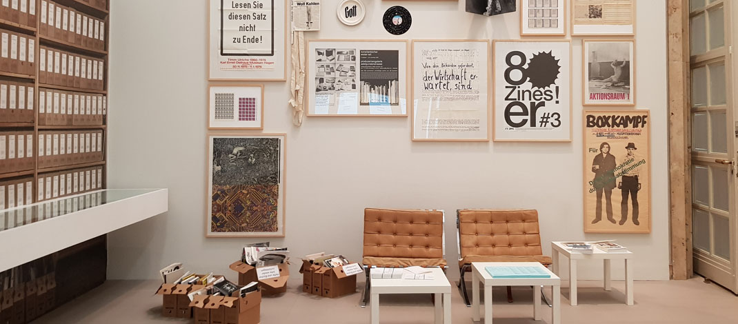 Archiv Galerie 2018/19: Archives in Residence – AAP Archiv Künstlerpublikationen