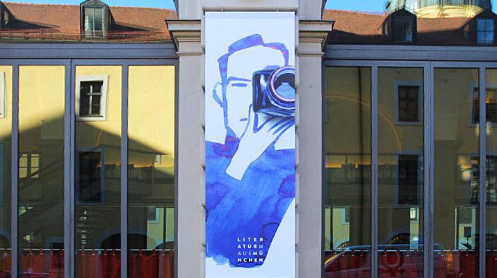 Christoph Niemann Ausstellung im Literaturhaus München