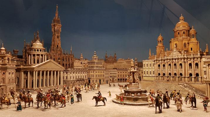 Krippensammlung aus der Alpenregion und Italien im Bayerischen Nationalmuseum in München