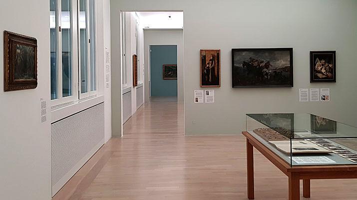Ausstellung Bildschön - Ansichten des 19. Jahrhunderts im Lenbachhaus