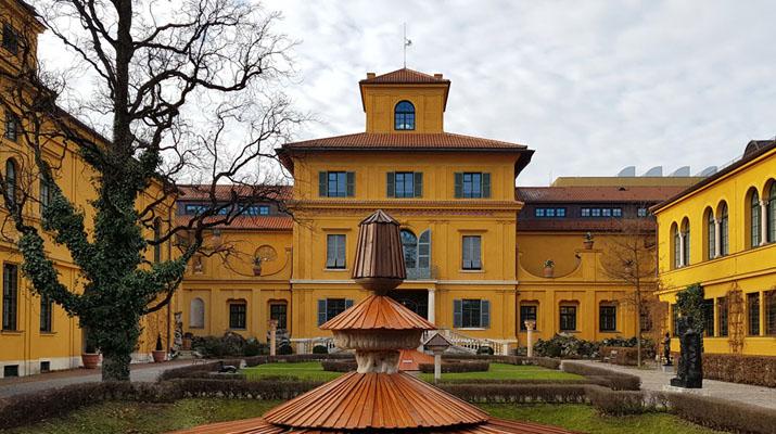 Der Blaue Reiter im Lenbachhaus in München