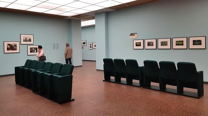 Ausstellungsräume im Kunstfoyer der Versicherungskammer Kulturstiftung