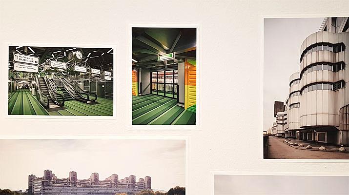 Die Ausstellung zeigt unter anderem Plakate und Fotographien von Wohnprojekte der Neuen Heimat