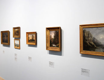 Die Ausstellung Natur als Kunst zeigt Werke von Malern und Fotographen aus dem 19. Jahrhundert