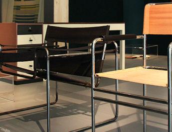 Historische Bauhaus-Objekte in Auseinandersetzung mit zeitgenössischen Kunstwerken