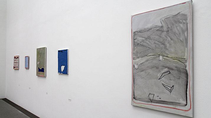Gemälde von Raoul de Keyser in der Sammlung Moderne Kunst im ersten Obergeschoss der Pinakothek der Moderne in München