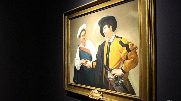 Caravaggio Ausstellung in der Alten Pinakothek in München