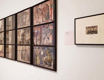 Die Ausstellung Koloman Moser in den Räumen des Museum Villa Stuck in München