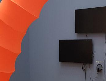 Ausstellungsräume Archiv Galerie 2019 der Reihe Archives in Residence im Haus der Kunst in München