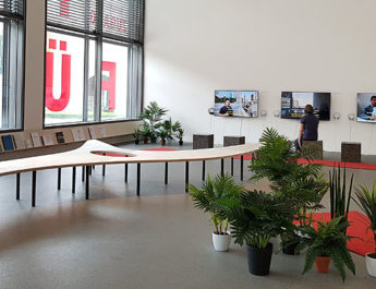 Ausstellungsräume der Ausstellung Zugang für alle: São Paulos soziale Infrastrukturen