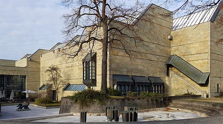 geschlossene Neue Pinakothek