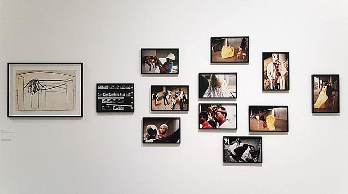 Fotos von Senga Nengudi im Lenbachhaus in München