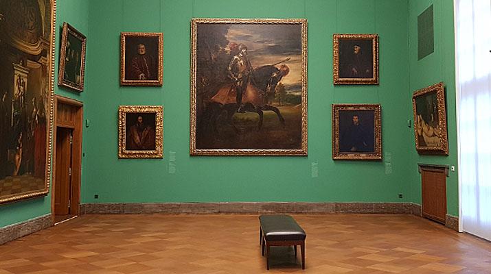 Die Sammlung Schack mit Kopien berühmter Meisterwerke der Renaissance