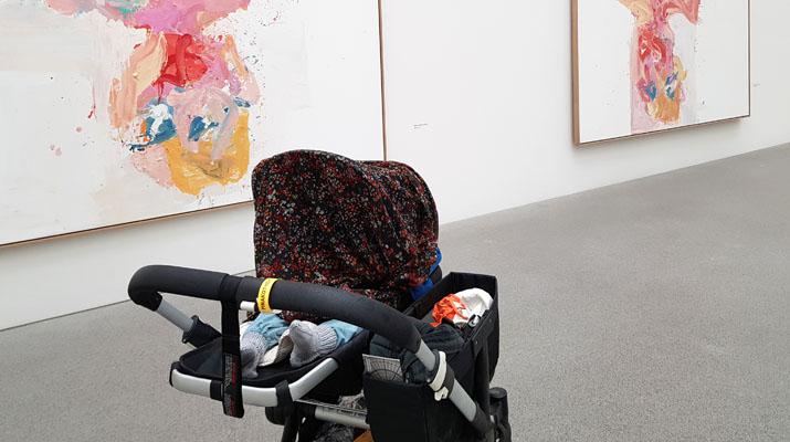Baby im Museum München
