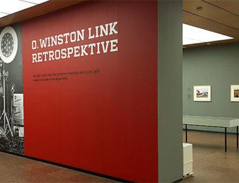 Retrospektive O. Winston Link in der Versicherungskammer Bayern in München