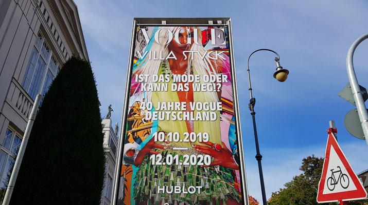 Mode-Ausstellung VOGUE im Museum Villa Stuck in München
