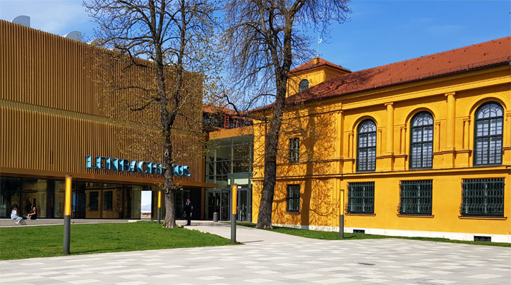Das Malerische im Lenbachhaus in München