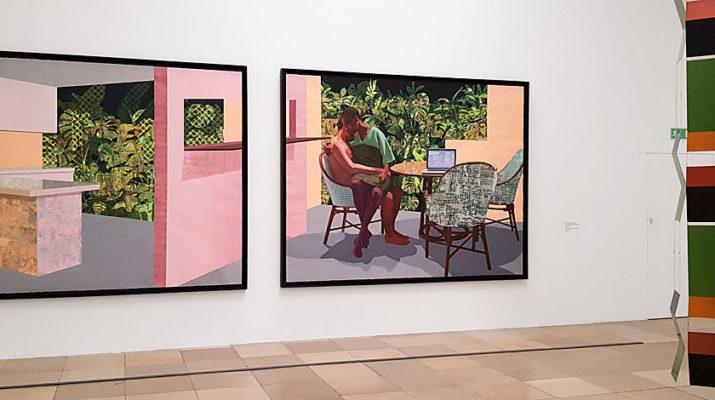 Innenleben Haus der Kunst