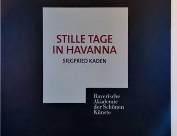 Ausstellung von Siegfried Kaden in der Bayerischen Akademie der Schönen Künste in München