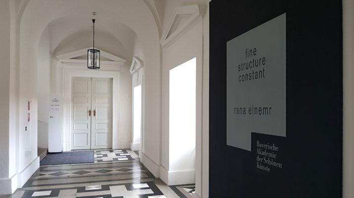 Rana El Nemr in der Bayerischen Akademie der Schönen Künste in München