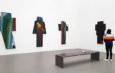 Arnulf Rainer in der Pinakothek der Moderne in München