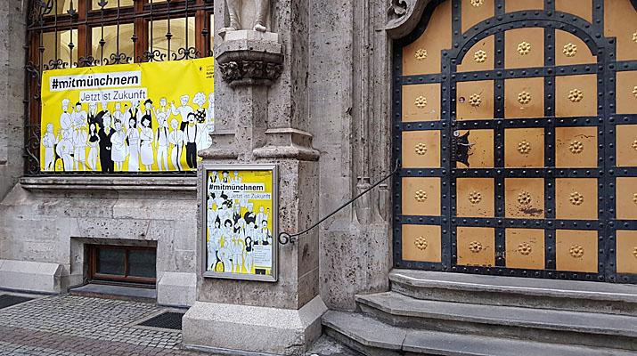 Ausstellung in der Rathausgalerie München