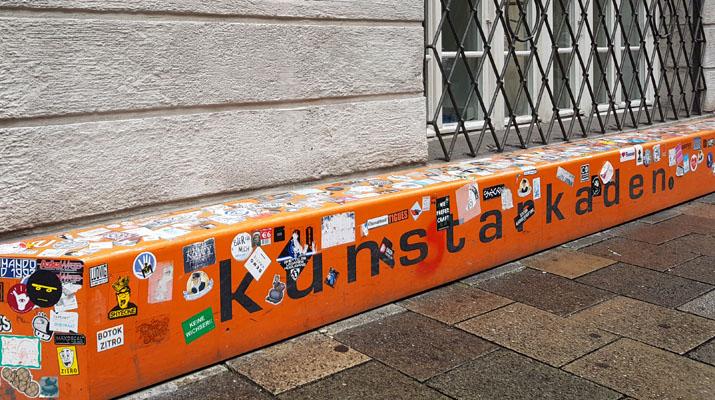 Kunstarkaden München in der Sparkassenstraße 1