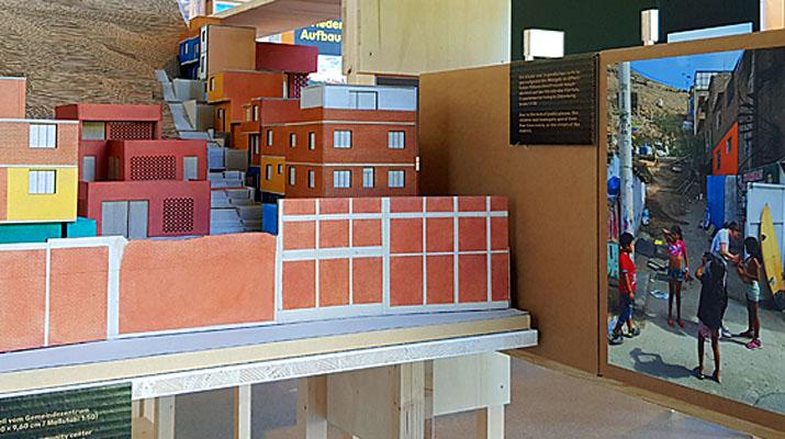 Ausstellung Experience in Action! DesignBuild in der Architektur im Architekturmuseum in der Pinakothek der Moderne