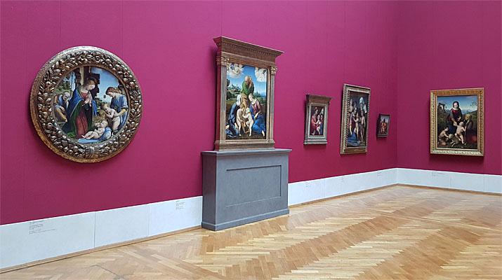 Raffael Ausstellung in der Alten Pinakothek in München