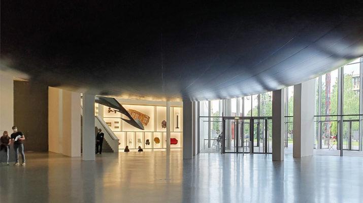 Anish Kapoor Howl in der Pinakothek der Moderne in München