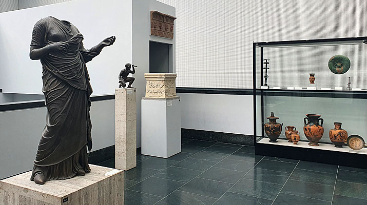 Ausstellung in den Staatlichen Antikensammlungen München