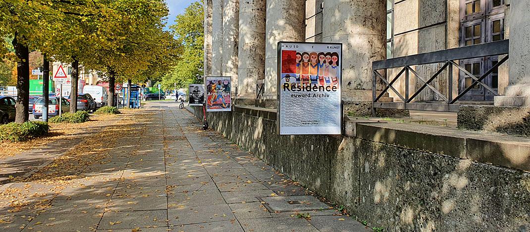 Archiv euward im Haus der Kunst in München