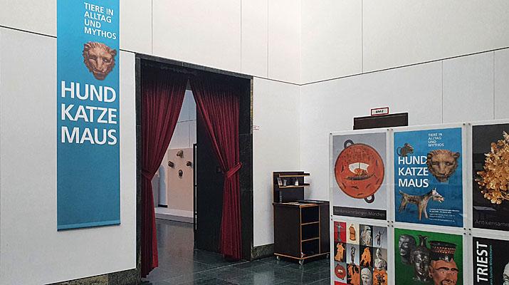 Ausstellung Hund, Katze, Maus – Tiere in Alltag und Mythos in den Staatlichen Antikensammlungen in München