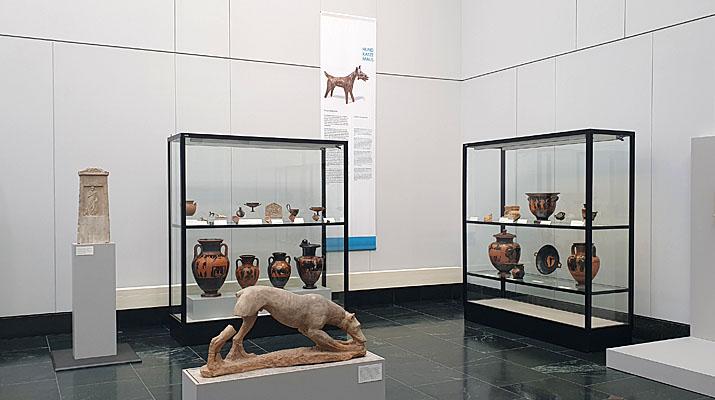 Hund Katze Maus Ausstellung in den Staattlichen Antikensammlungen in München
