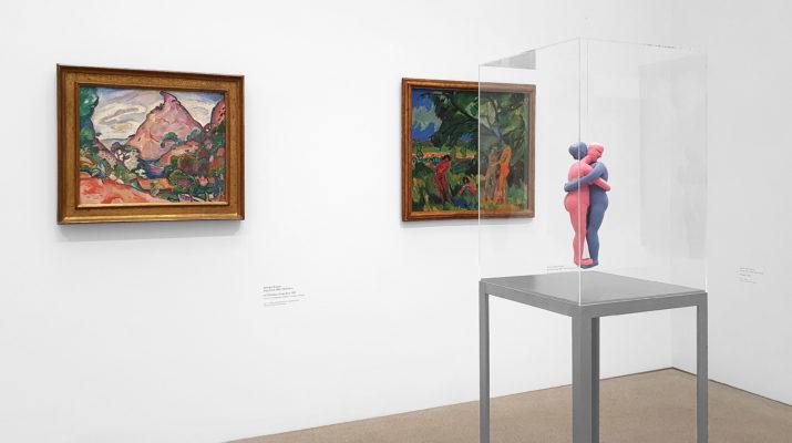 Ausstellung Au rendez-vous des amis. Klassische Moderne im Dialog mit Gegenwartskunst aus der Sammlung Goetz in der Pinakothek der Moderne in München