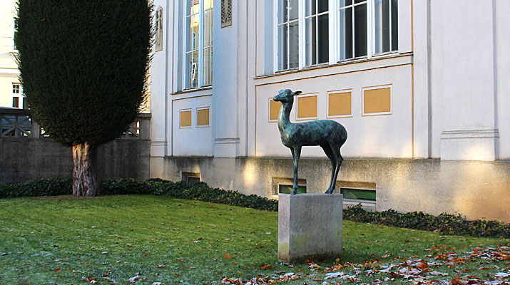 Ausstellung Maya Schweizer Stimmen im Museum Villa Stuck in München