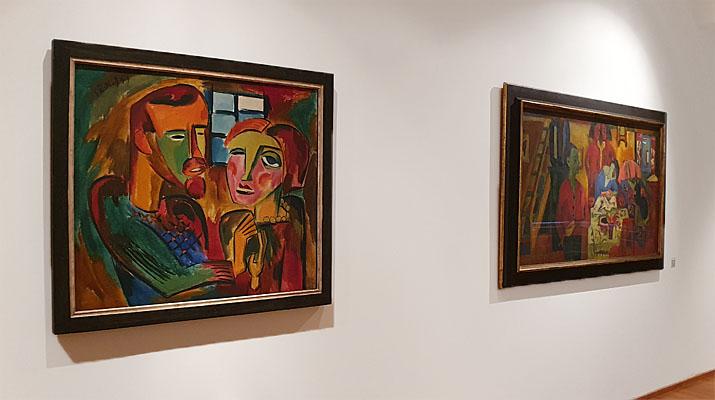 Ausstellung Kirchner und Schmidt-Rottluff im Buchheim Museum der Phantasie in Bernried am Starnberger See