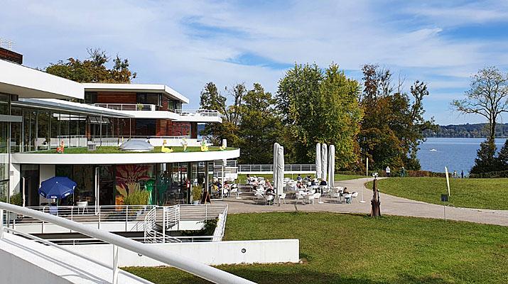 Cafe Buffi im Buchheim Museum in Bernried