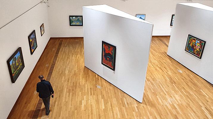 Expressionismus im Buchheim Museum der Phantasie in Bernried am Starnberger See