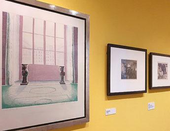 Ausstellung Innen, außen, drinnen, draußen… Aquarelle und Graphiken der Klassischen Moderne im Schlossmuseum Murnau