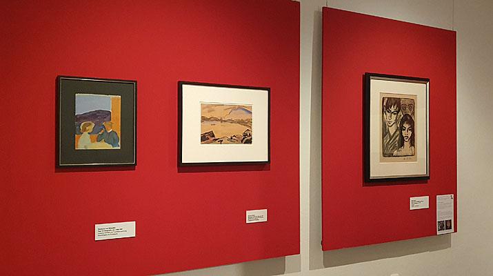 Ausstellung Klassische Moderne im Schlossmuseum Murnau