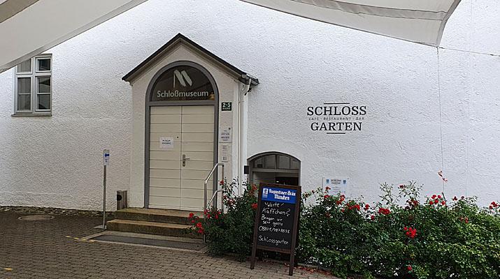 Schlossmuseum Murnau mit Café und Restaurant