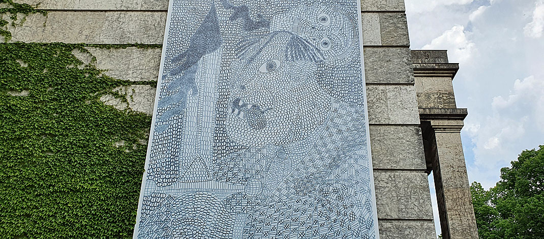 """Ausstellung """"Felix Brenner, Andreas Maus, Kar Hang Mui. euward 8"""" im Haus der Kunst in München"""
