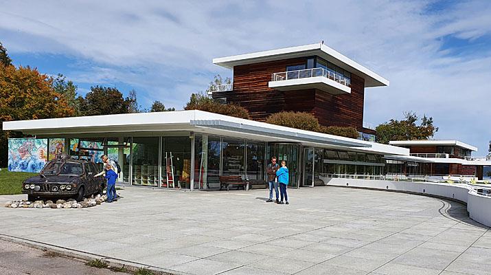 Ausstellung Leif Trenkler im Buchheim Museum der Phantasie in Bernried am Starnberger See