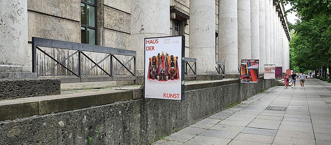 Ausstellung Sweat im Haus der Kunst in München