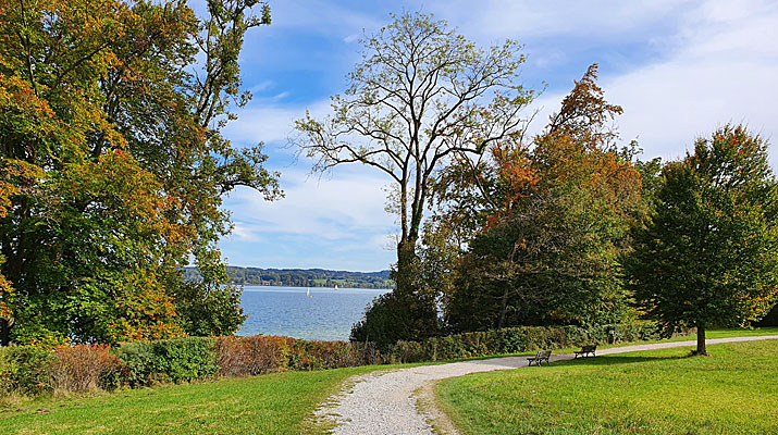 Humorparcours des Humorfestival Bernried am Starnberger See