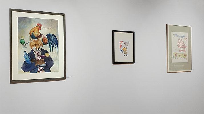 Ausstellung Reinhard Michl, Julian Opitz, Anette Bley im Buchheim Museum der Phantasie in Bernried