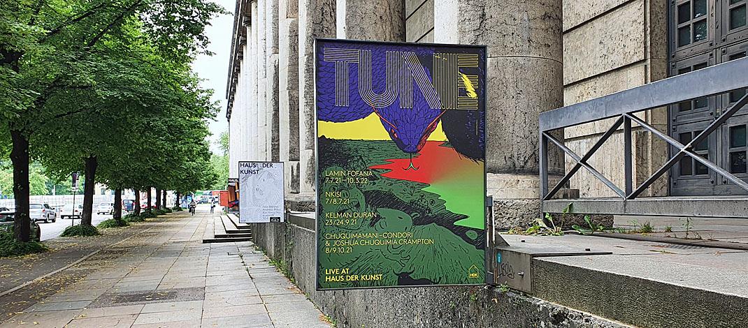 Ausstellung Tune im Haus der Kunst in München