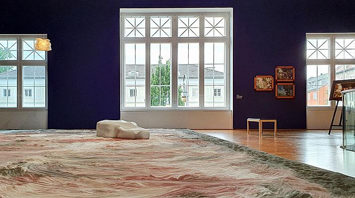 Ausstellung Lee Mingwei in der Villa Stuck in München
