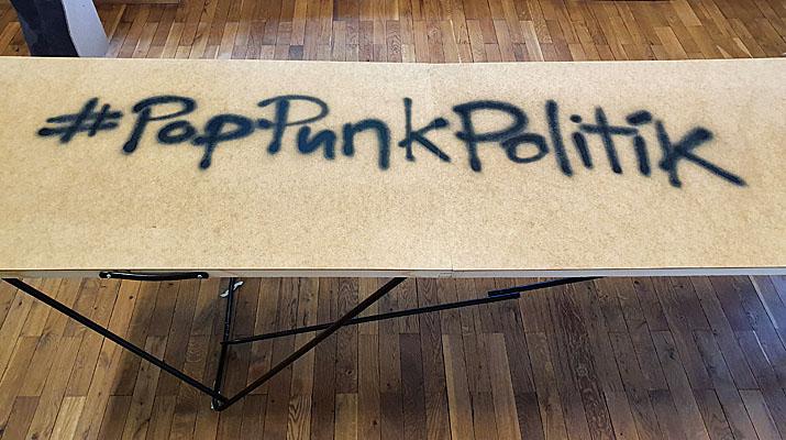 Ausstellung Pop Punk Politik in der Monacensia in München